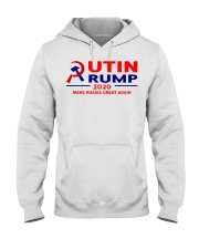 Putin Trump 2020 Make Russia Great Again Trump Hooded Sweatshirt thumbnail