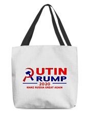 Putin Trump 2020 Make Russia Great Again Trump All-over Tote thumbnail
