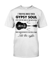 I wanna rock your gypsy soul Violon Lake shadow Classic T-Shirt front