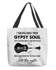I wanna rock your gypsy soul Violon Lake shadow All-over Tote thumbnail