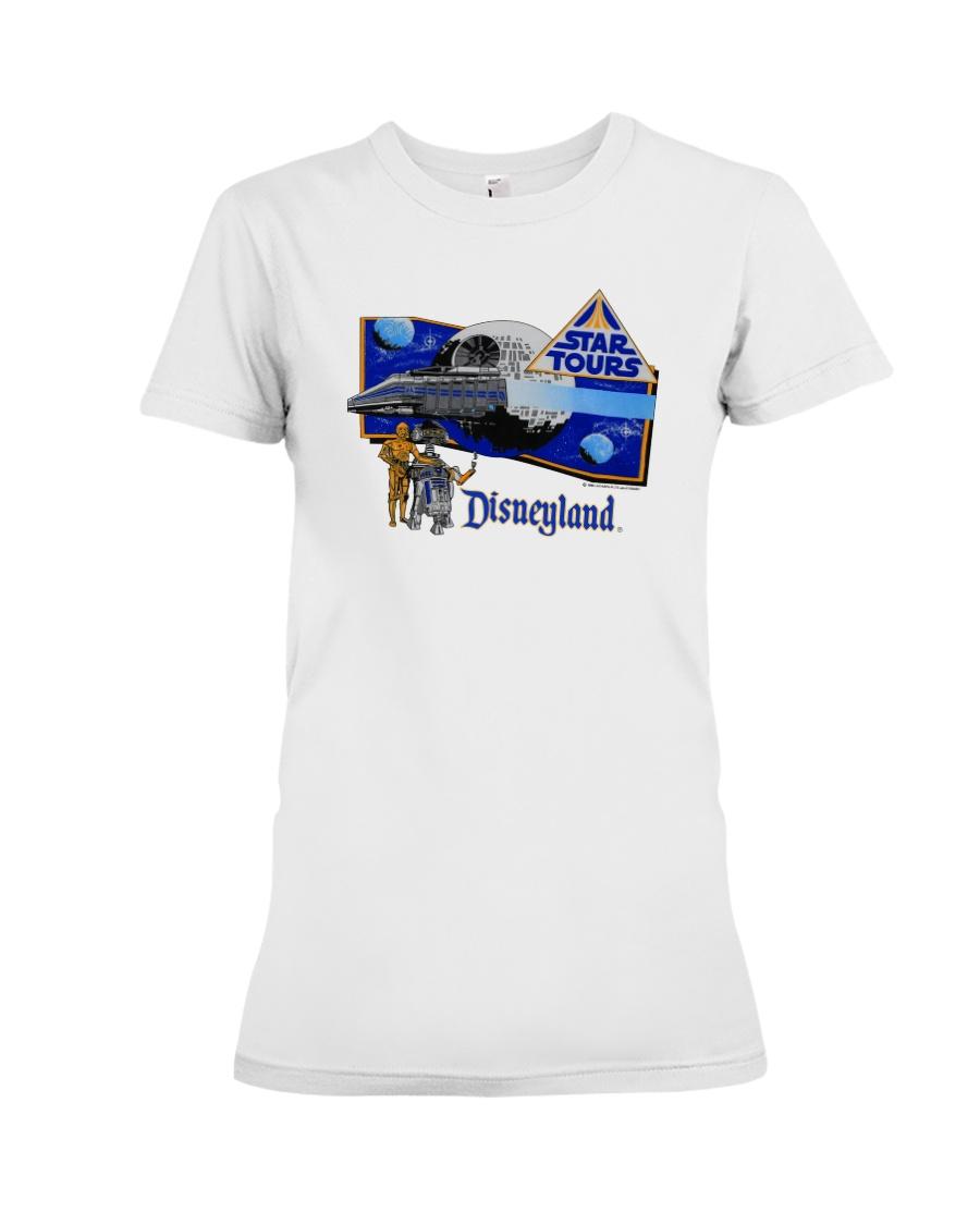 Vintage Star Wars Star Tours 80S Souvenir T Shirt