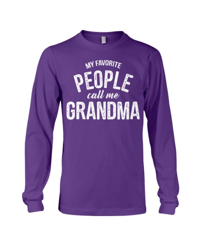 my favorite people call me grandma