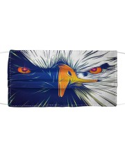 american bald eagle Cloth face mask front