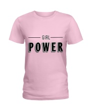 GIRL POWER Ladies T-Shirt front