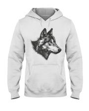 Grey Wolf Hooded Sweatshirt thumbnail