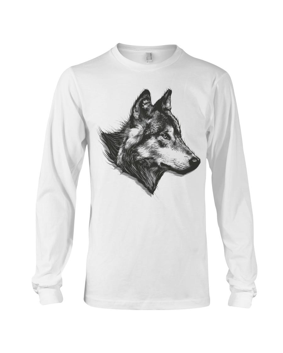 Grey Wolf Long Sleeve Tee