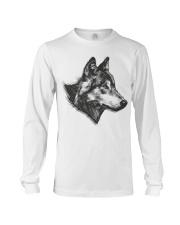 Grey Wolf Long Sleeve Tee front