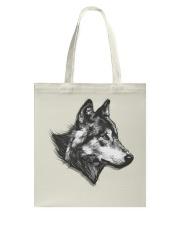 Grey Wolf Tote Bag thumbnail