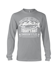 Today's Bait - Tomorrow's Plate Long Sleeve Tee front