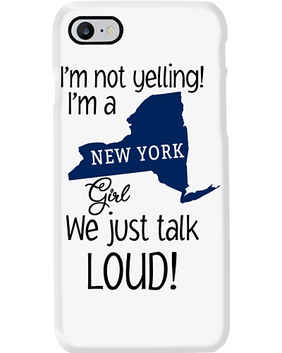 I'm not yelling I'm a  New York girl
