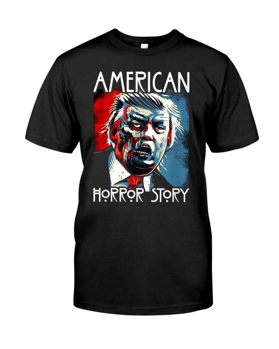 Anti trump horror story zombie trump t-shirt Classic T-Shirt