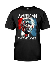 Anti trump horror story zombie trump t-shirt Classic T-Shirt front