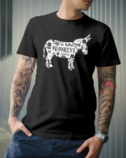 Life Is Better With Donkeys Classic T-Shirt lifestyle-mens-crewneck-front-6