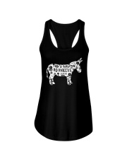 Life Is Better With Donkeys Ladies Flowy Tank thumbnail