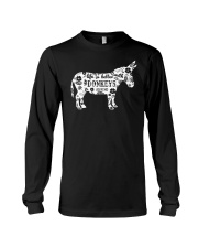 Life Is Better With Donkeys Long Sleeve Tee thumbnail