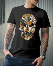 Guitar Skull Classic T-Shirt lifestyle-mens-crewneck-front-6