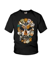 Guitar Skull Youth T-Shirt thumbnail