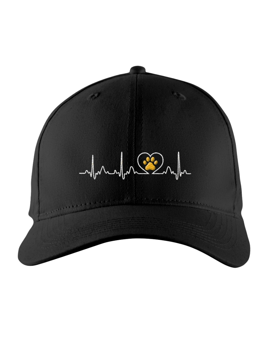 Cat Heartbeat Embroidered Hat