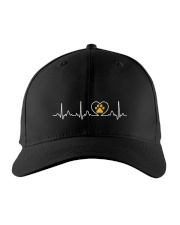 Cat Heartbeat Embroidered Hat front