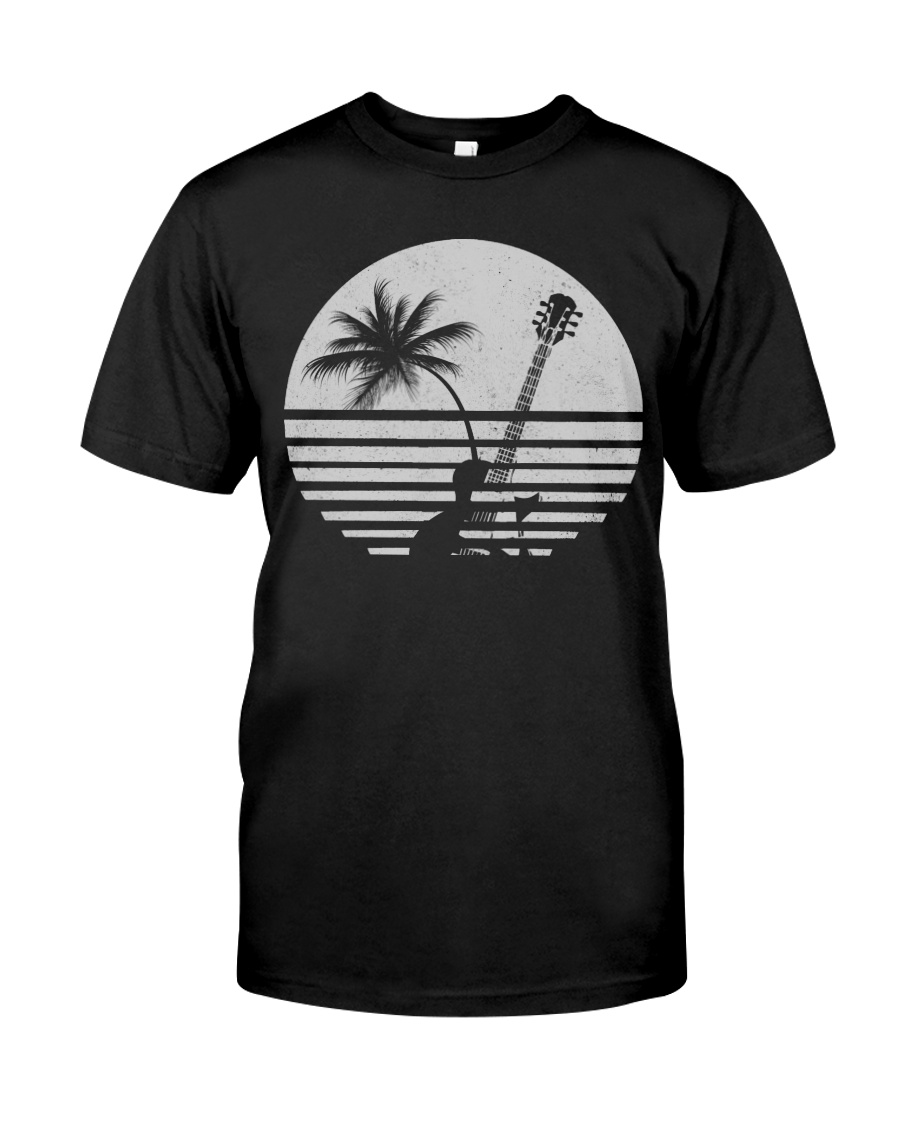 Guitar Sunset Classic T-Shirt