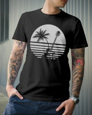 Guitar Sunset Classic T-Shirt lifestyle-mens-crewneck-front-6