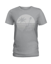 Guitar Sunset Ladies T-Shirt thumbnail