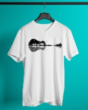 Nature Guitars V-Neck T-Shirt lifestyle-mens-vneck-front-3