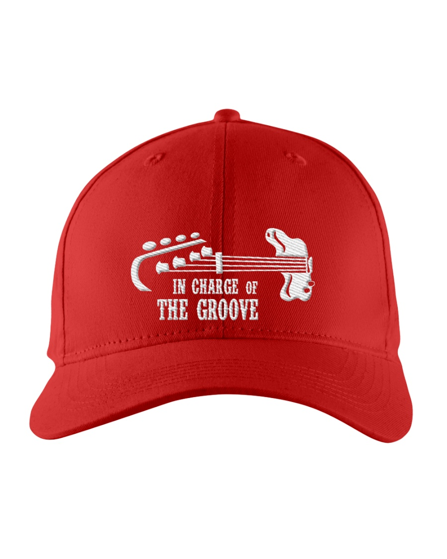 In Chage Of The Groove Bass Embroidered Hat