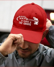 In Chage Of The Groove Bass Embroidered Hat garment-embroidery-hat-lifestyle-01