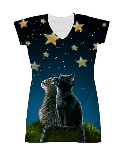 Cats On Night