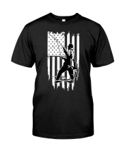 Fishing USA Flag Premium Fit Mens Tee thumbnail
