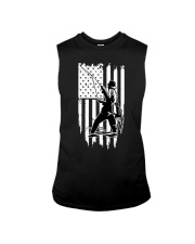 Fishing USA Flag Sleeveless Tee thumbnail