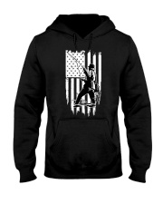 Fishing USA Flag Hooded Sweatshirt thumbnail