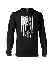 Fishing USA Flag Long Sleeve Tee thumbnail