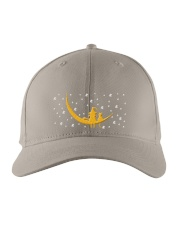 Cat Happy Halloween Embroidered Hat front