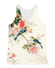 Bird And Flower 2018 All-over Unisex Tank front