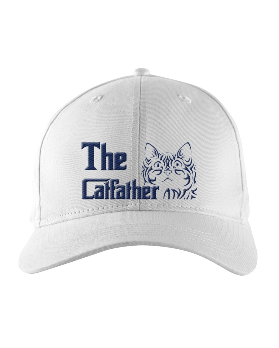 The Cat Father Embroidered Hat