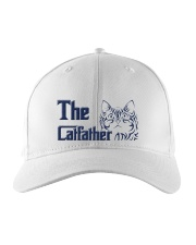 The Cat Father Embroidered Hat front