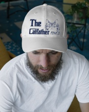 The Cat Father Embroidered Hat garment-embroidery-hat-lifestyle-06