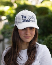 The Cat Father Embroidered Hat garment-embroidery-hat-lifestyle-07