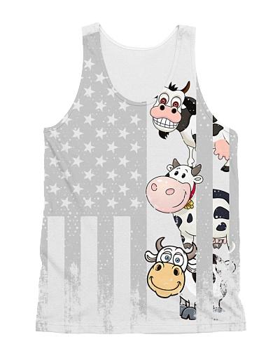 Cow USA Flag