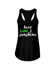 beer lime Ladies Flowy Tank front