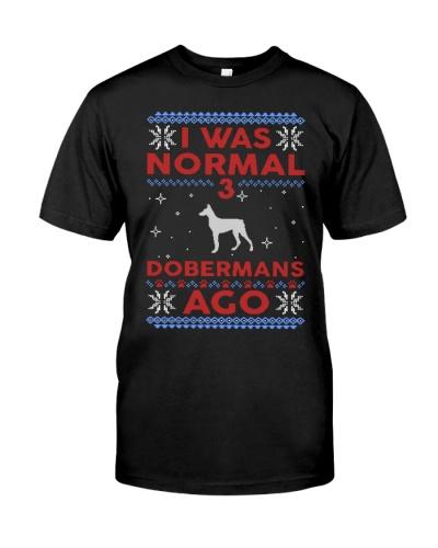 Doberman Ugly Christmas Sweater