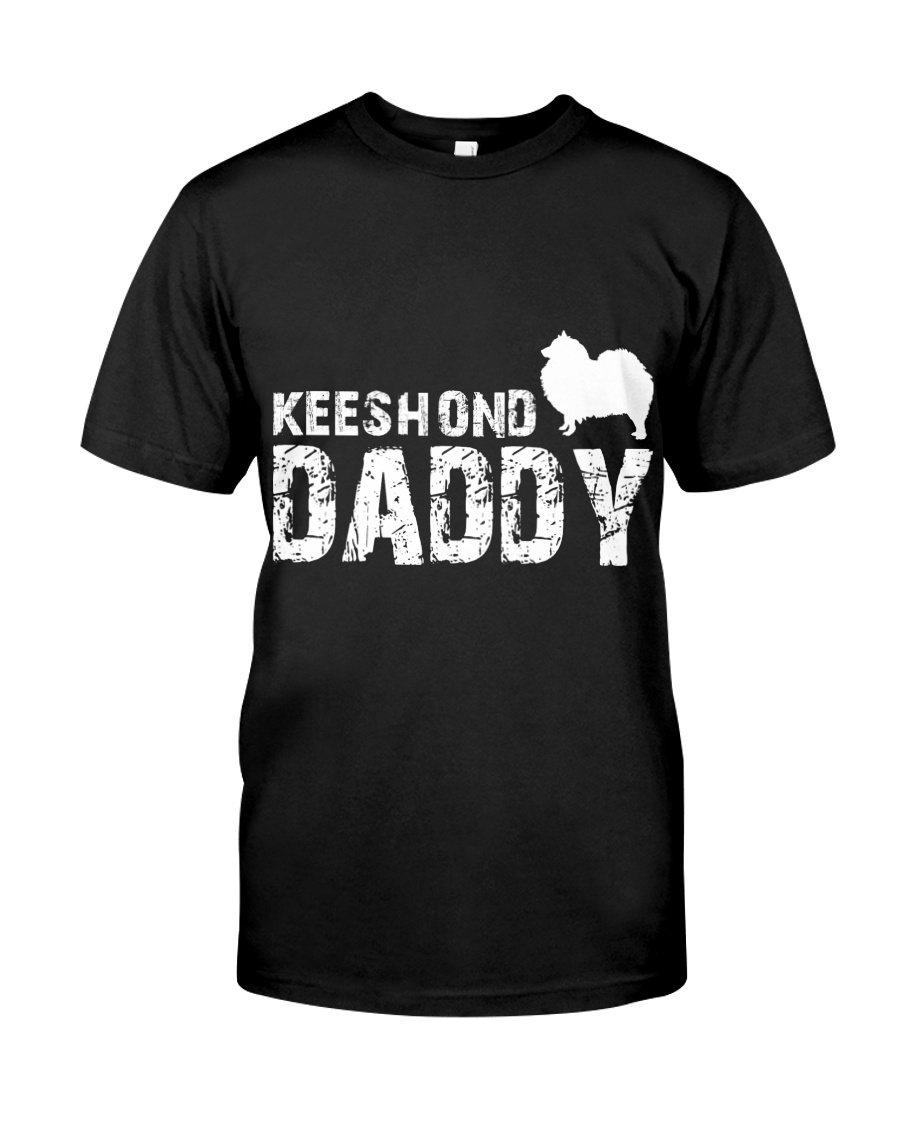 Keeshond Christmas Shirt Classic T-Shirt