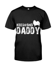 Keeshond Christmas Shirt Classic T-Shirt front