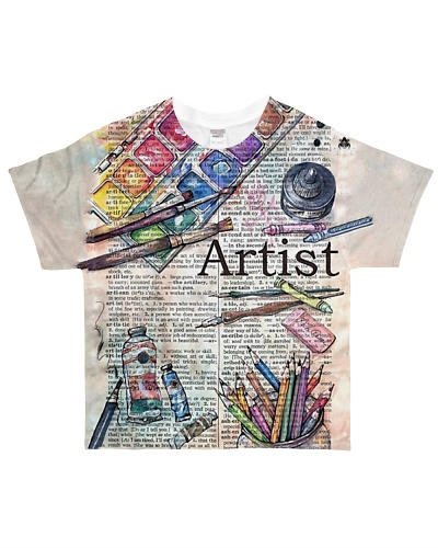 Painting Artist HU29 All-Over T-Shirt