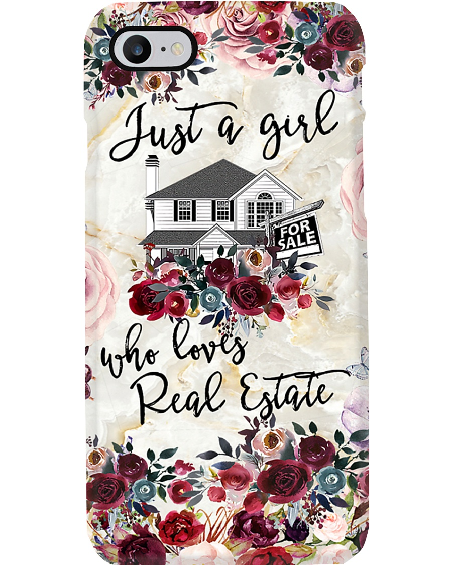 Just A Girl Who Loves Real Estate Phone Case HT10 Phone Case