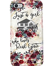 Just A Girl Who Loves Real Estate Phone Case HT10 Phone Case i-phone-7-case