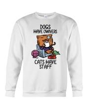Cat Have Staff T-shirt Classic T-Shirt Crewneck Sweatshirt thumbnail
