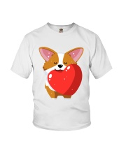 Welsh Corgi Tee Shirt And Hat 02 Youth T-Shirt tile
